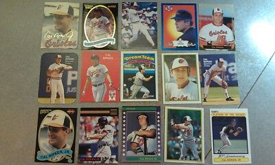 Ripken Jr Hall Of Fame - Cal Ripken Jr Baltimore Orioles SS Hall Of Fame RARE Oddballs WOW * YOU PICK *