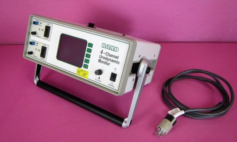 Bard 4-Channel 661502 Uroflow Meter Urodynamic Monitor Flow Rate Measurement