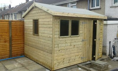 10 x 8 19mm Pent Tanalised Shed HEAVY DUTY