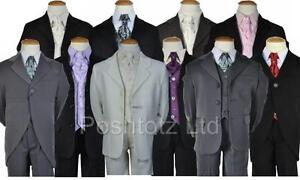 Baby-Boys-5pce-suits-0-3mth-14-15yrs-pageboy-christening-formal-wear