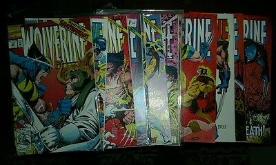 Wolverine 54-67 comic book lot run set collection movie marvel comics