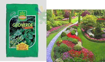 Terriccio universale per fiori piante 50% torba con fertilizzante 10 lt Geovital