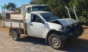 Wrecking 2013 Mitsubishi Triton MN GL (Stock #F0724) Mareeba Tablelands Preview