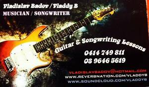 Guitar & Songwriting Lessons Port Melbourne Port Phillip Preview