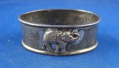 Serviettenring Indien Elefant 925er Sterling Silber