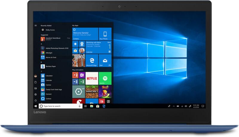 Lenovo S130-14 Laptop 14 inch HD Intel Celeron N4000 4GB RAM 64GB SSD