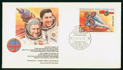 MayfairStamps Russia 1978 Launch of Soyuz 30 Space First Day Cover wwo30401