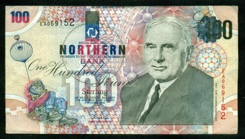 Ireland Northern Bank £100 Pounds 1999 Belfast AE 069152