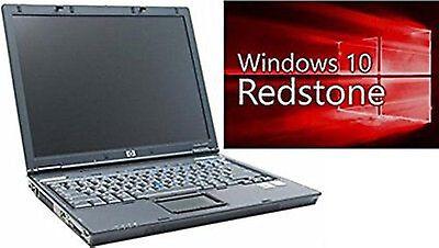 HP Compaq Notebook NC6220 Laptop mit WIN10 PRO / WINDOWS 10 PROFESSIONAL Lizenz