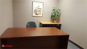 RED DEER: OFFICE SPACE-FULLY FURNISHED OFFICES-$425/MTH