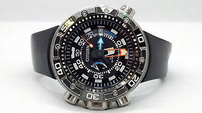 CITIZEN Eco-Drive BN2029-01E Professional 300m Depth Meter Dive Watch BIN!