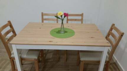 Ikea Dining table with 4 chairs for $100 only