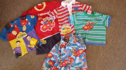 WIGGLES Clothes & PJ Set - size 2 Albany Creek Brisbane North East Preview