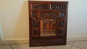 Mirror - ornate carved wooden frame Whyalla Playford Whyalla Area Preview