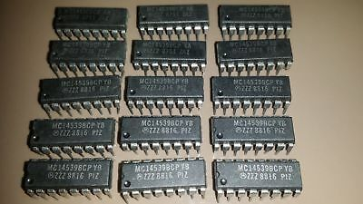 20 X MC14539BCP DUAL 4 CHANNEL DATA MULTIPLEXER MOTOROLA