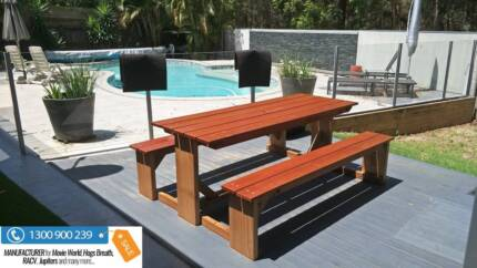 Outdoor Furniture Brisbane AU MADE - Schools, Hotels, Pubs, Cafes