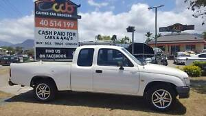 What a Find - Auto Toyota Hilux XCab with 4 Seats - Rego & RWC