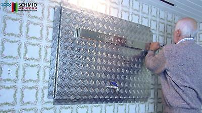 Überschwemmungsschutz Kellerfenster Lichtschacht Abdeckung Selbsteinbau 80x58cm