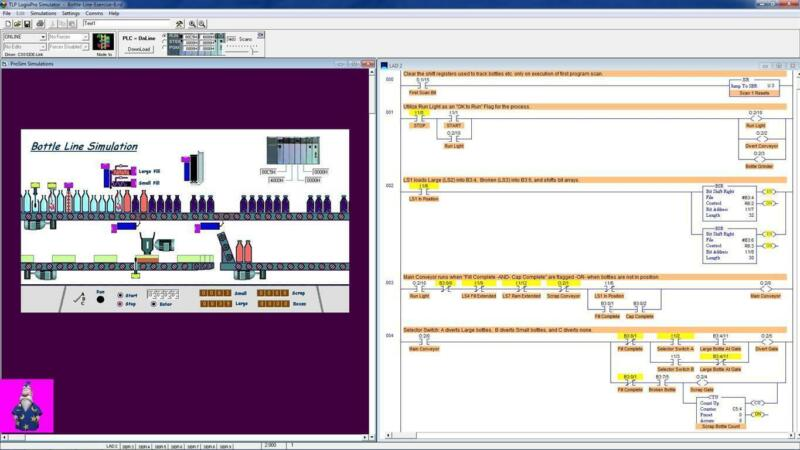 Logixpro 500 - New Training CD with Simulation Solutions