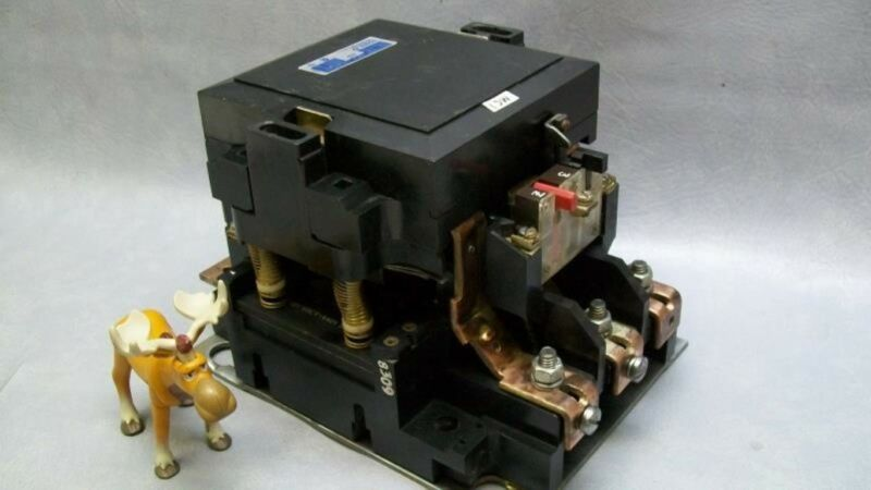 Gould A103F Size 4 Contactor 480V Coil contacts 95%