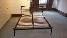 Steel double bed frame Brighton Bayside Area Preview