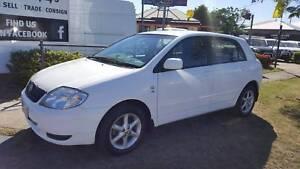Toyota Reliability in an Automatic Hatch - RWC + Rego & Warranty