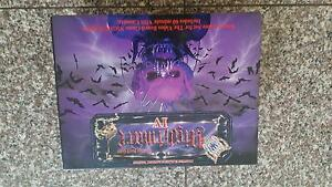 Nightmare 4 - IV - Elizabeth Bathory Vampire - 1991 - Video Board Haberfield Ashfield Area Preview