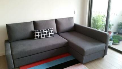 Ikea Corner Sofa-bed with storage for $425 only