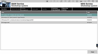BMW ISPI-NEXT ISTA 4.08.xx  & ISTA/P 3.63.x Expert mode ETK KSD E-Sys INPA NCS