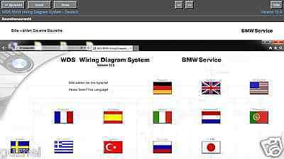 BMW WDS Schaltpläne Version V12.0  letzte Version