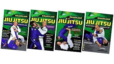 4 DVD Set Universal Brazilian Jiu Jitsu Blue - Black Belt Rodrigo Antunes mma