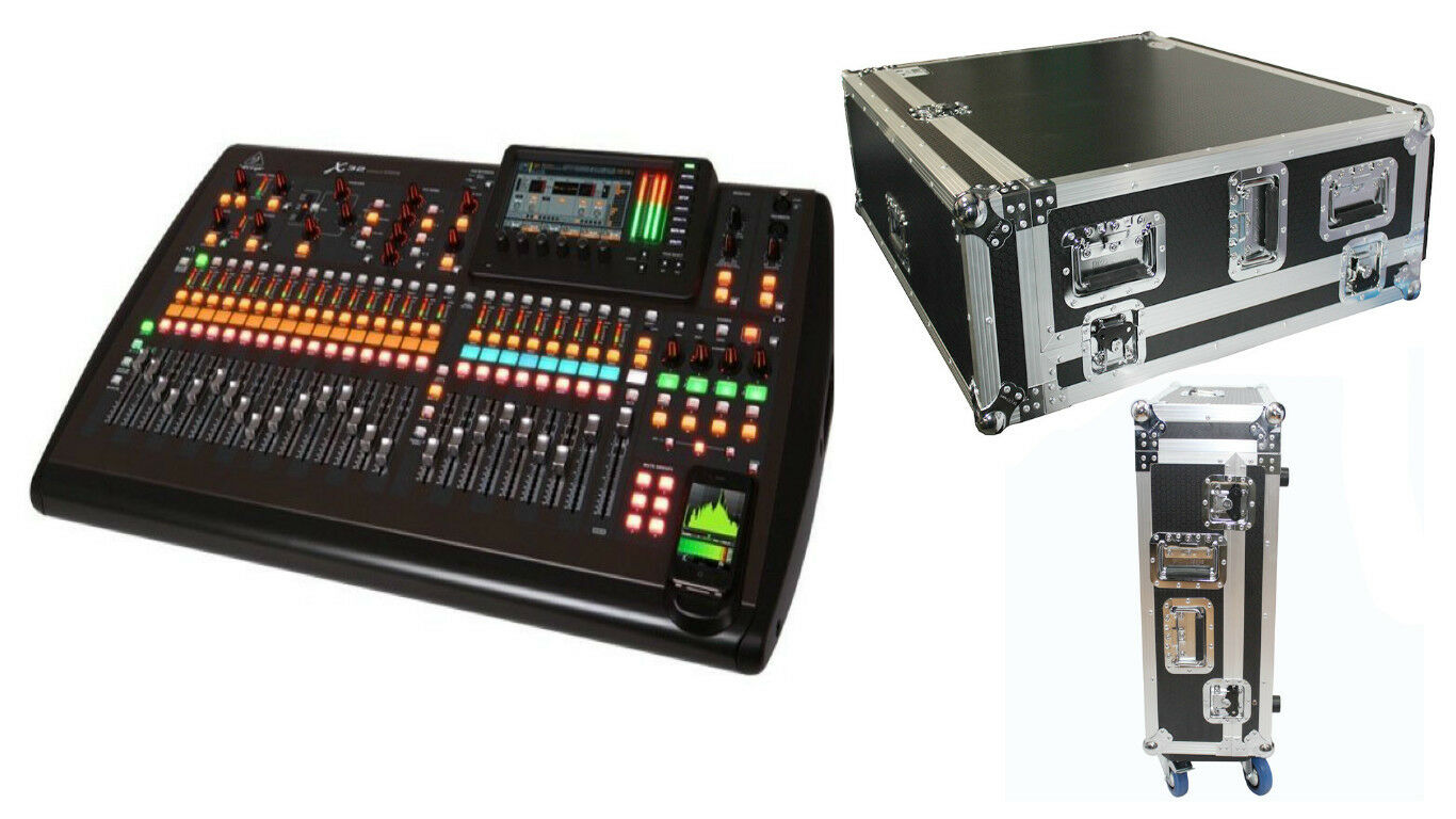 Details about Behringer X32 32-Channel Digital Mixing Board + Road Case w/  Doghouse Design