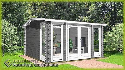 Gartenhaus Aus Holz Modern 40mm 3 9x3m 40mm