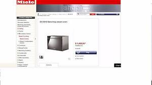 Miele Benchtop steam oven DG 6010 North Strathfield Canada Bay Area Preview