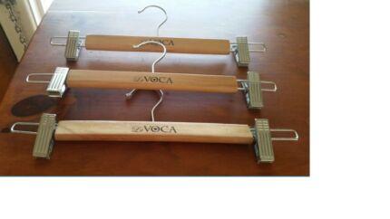 50 x Wooden hangers |clothes hangers|pants hangers|skirt hangers Alderley Brisbane North West Preview