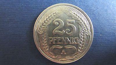 Kaiserreich 25 Pfennig 1910  A in vz J 18 (H 77)