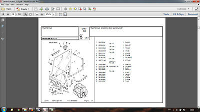 Landini Mythos 115 Parts Catalog In Pdf Format