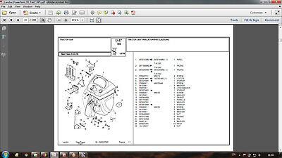 Landini Powerfarm 95 Tier 2 Rps Parts Catalog In Pdf Format