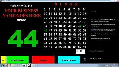 Bingo Software - Bingo Calling Software Emulating Machinepersonalized For You