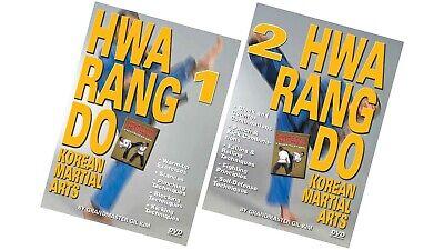 2 DVD SET Hwa Rang Do Korean Karate Martial Arts Fighting Counters Rolls- GM Kim