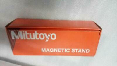 New Mitutoyo Magnetic Base 7011s -10 For Dial Indicator Gauges - Fine