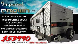 "Imperial Crown Caravan - 21'6"" Full Ensuite, Cafe Dinette Campbellfield Hume Area Preview"