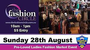 Preloved Ladies Fashion Market Event - Castle Hill Bowling Club Castle Hill The Hills District Preview