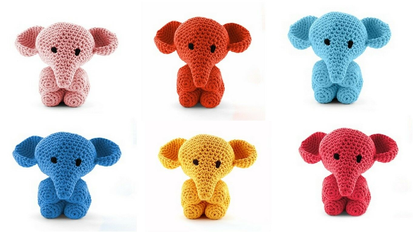 Leisure Arts Mini Maker Amigurumi Kit - Elephant -- CreateForLess | 768x1366