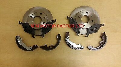 Ford Focus Mk1 1998 2004 All Models Front Brake Discs Pad  Brake Shoes