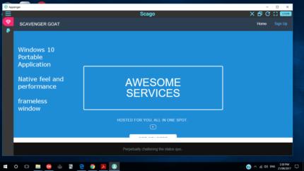 Scavenger Goat Web Services