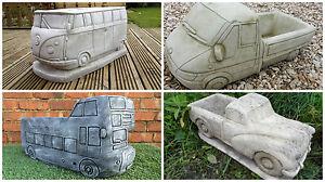 x4 Vehicle Latex & Fibreglass Concrete Garden Ornament Planter Moulds DEAL!!