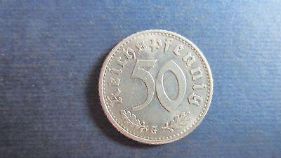 Drittes Reich J. 368 50 Reichspfennig 1935 G in vz-st (RG68)