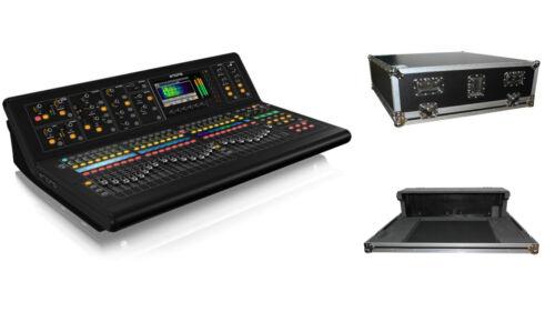 Midas M32-ip 40-channels Digital Mixer Console + Flight Case W/doghouse & Wheels