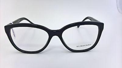 Burberry Brillengestell Fassung B2166 3001 schwarz ()
